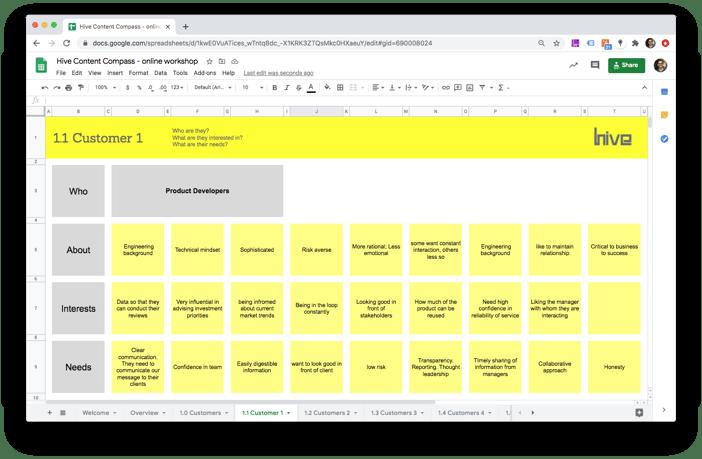Hive_Content_Compass_workshop